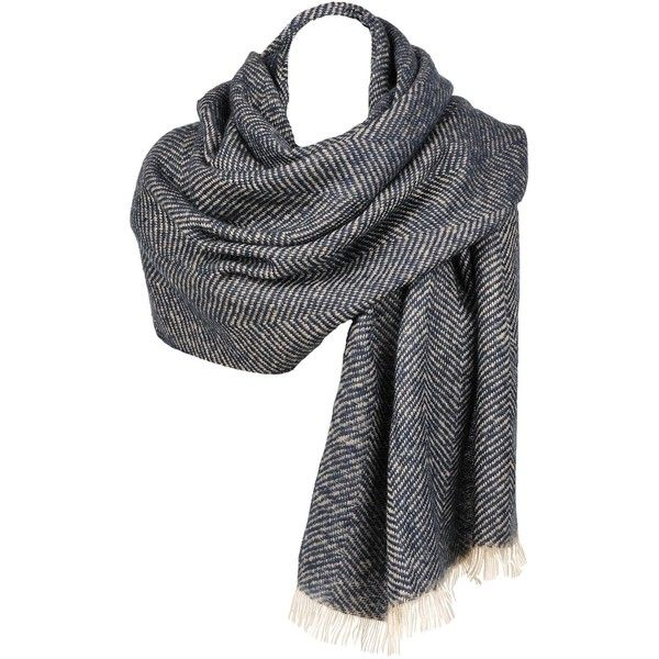 Black Rivet Chevron Blanket Scarf w/Fringe Ends (1,130 PHP) ❤ liked on Polyvore featuring accessories, scarves, blanket scarf, black rivet, fringe scarves, fringed shawls and chevron scarves