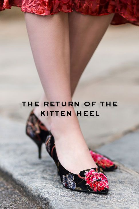 Why it's Time to Rethink the Kitten Heel