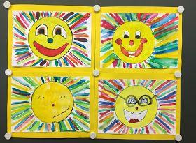 Laughing Suns Matching the weather here in beautiful Spain, I'd like to show you our second last;) miniature art project today. E …