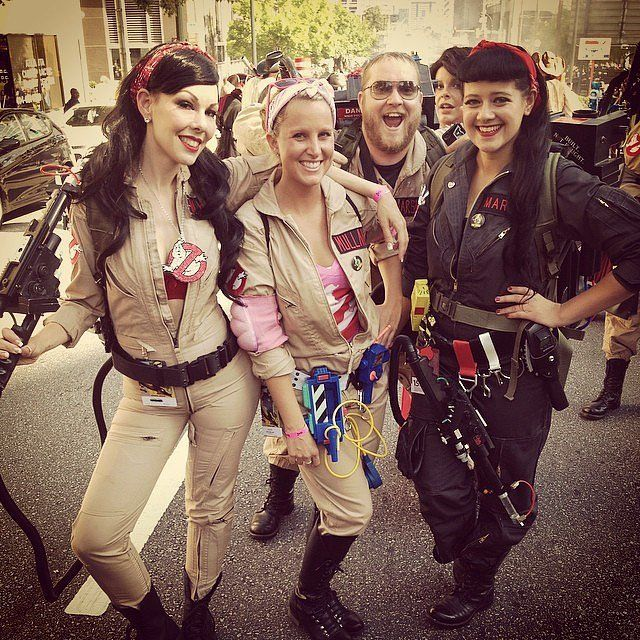 Girl Group Halloween Costumes | ghost busters