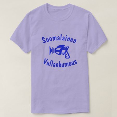suomalainen vallankumous Finnish revolution T-Shirt - click/tap to personalize and buy