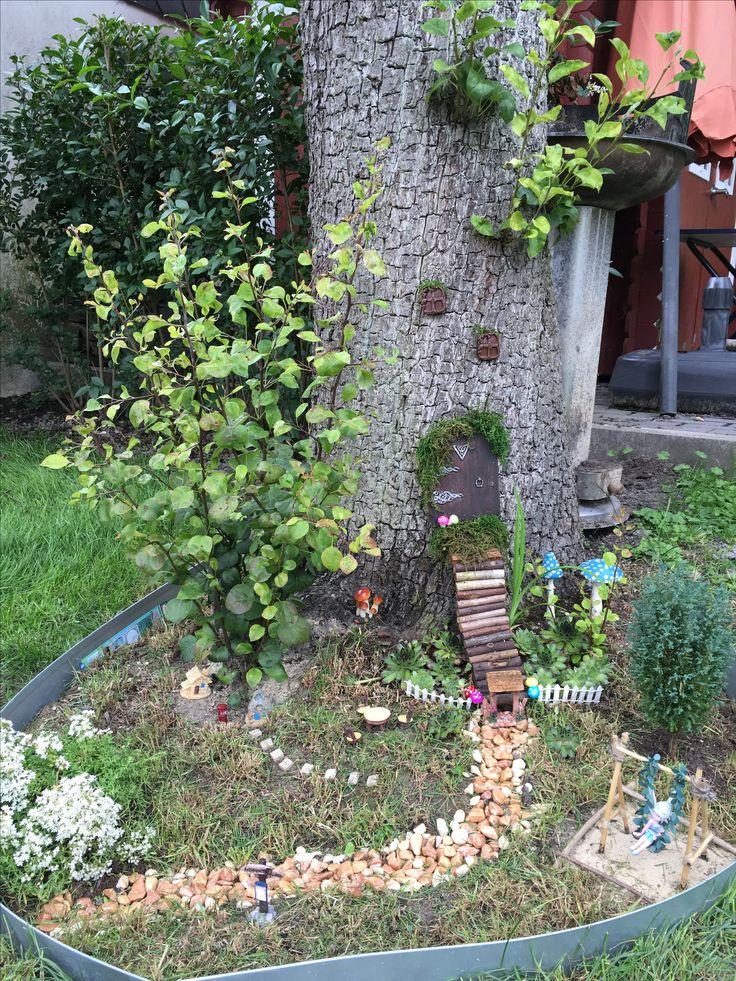 Feengarten in und um den Birnbaum - Fairy Garden - Fairys will love this Place