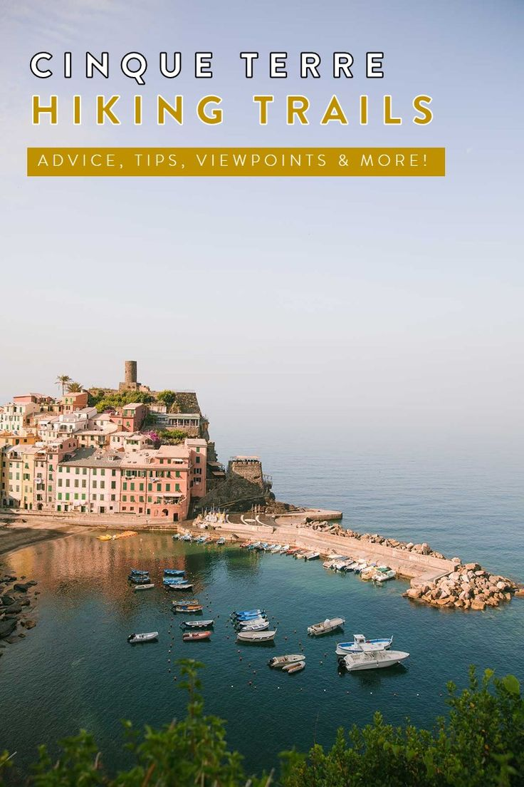 Cinque Terre Italy Travel Guide How to Hike the Coastal Cities