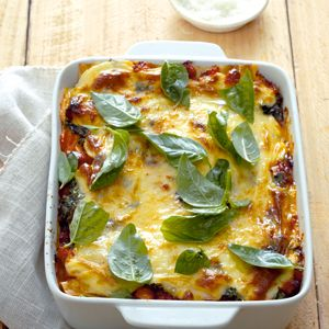 Chicken & spinach Lasagna- So Delicious No one will even guess it is low in fat !!