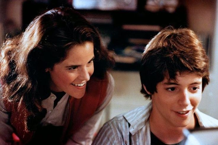 Ally Sheedy And Matthew Broderick In WarGames WarGames