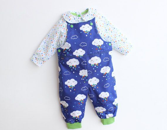 Funky Baby Dungarees Sewing Pattern Crest - Knitting Pattern Ideas ...