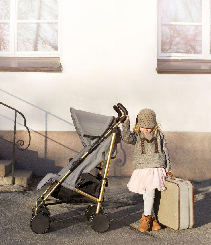 Stockholm Stroller - Golden Grey <3