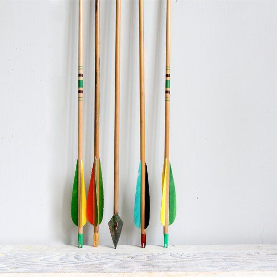 Vintage Wooden Arrows by ethanollie on Etsy, $14.00
