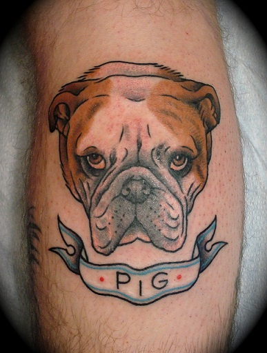 bulldog tattoo rockabilly pinup vintage pinterest bulldogs tattoos and body art and. Black Bedroom Furniture Sets. Home Design Ideas