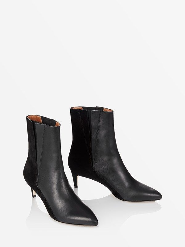 e5e85e3638a The Best Black Ankle Boots   Booties For Fall 2018