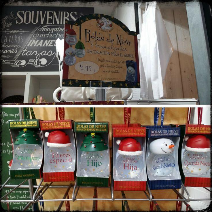 Bolas personalizadas para decorar tu árbol de Navidad.