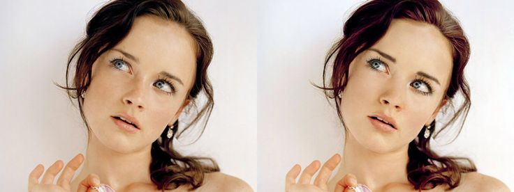 Photoshop before and after by ~CharlotteVT on deviantART