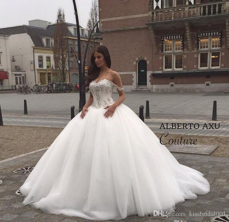 Vintage Wedding Dresses 2015 Bodice Crystal Wedding Dresses Princess Ball Gown Bridal Gowns With Beads Sweetheart Neck Lace Up Back Oragnza White Real Image Gowns Wedding Gowns From Kissbridal001, $129.01| Dhgate.Com