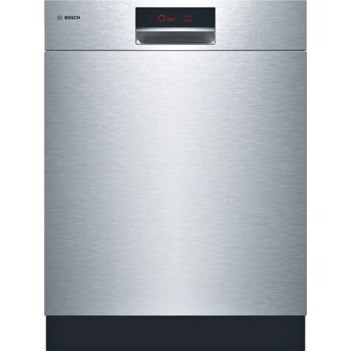 24 '' Recessed Handle Dishwasher 800 Plus Series- Stainless steel SHE9ER55UC - Quietest dishwasher