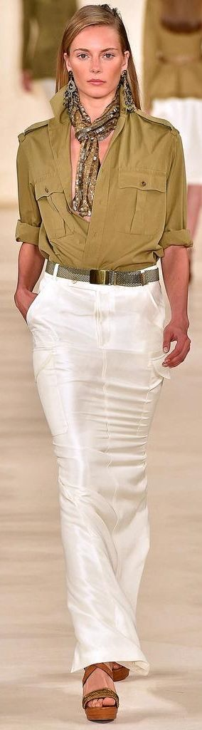 Ralph Lauren RTW Spring 2015 (Or: Absolutely unwearable for me!)
