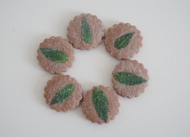 cómo petrificar flor y hoja comestible, by doctorcookies