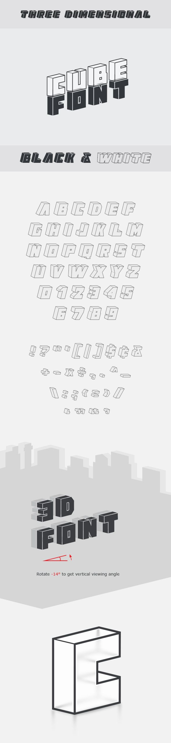 #Cube #Font - #Decorative Fonts Download here: https://graphicriver.net/item/cube-font/17617824?ref=alena994