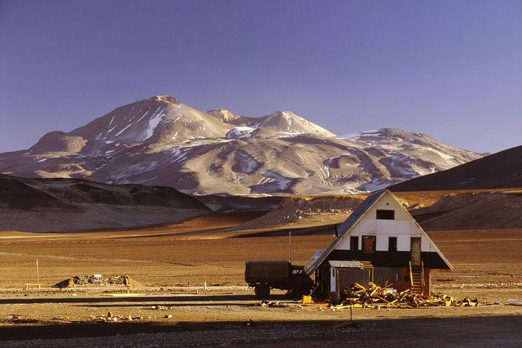 Nevado Ojos del Salado, Argentina y Chile