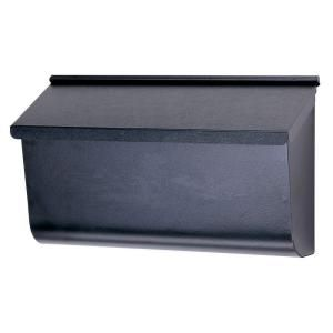 Gibraltar Mailboxes, Woodlands Black Wall-Mount Mailbox, L4010WB0 at The Home Depot - Mobile