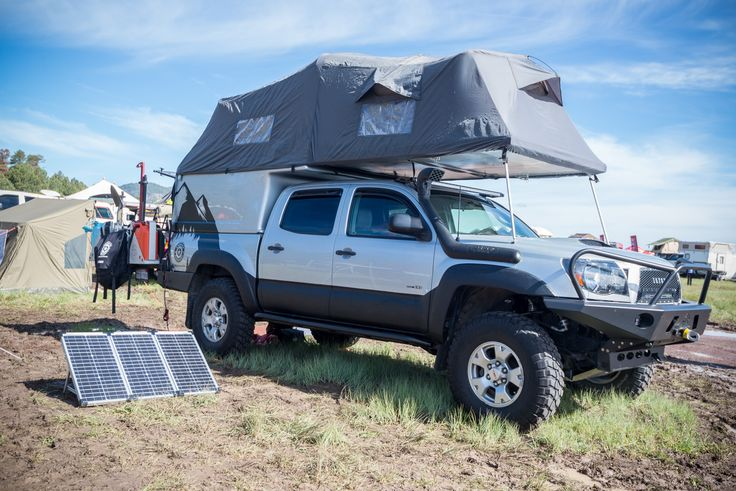 Pickup Topper Becomes Livable Pop-Top 'Habitat'