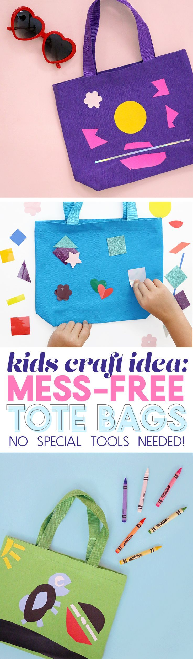 Kids Craft Idea Easy and Mess Free