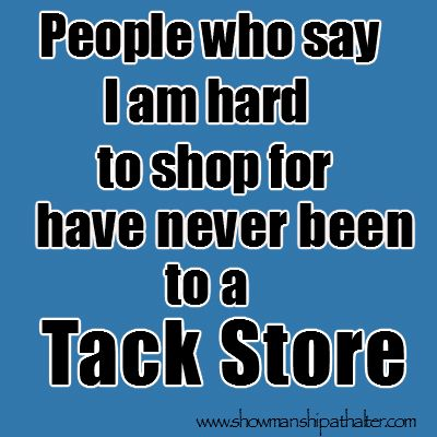 Pretty much but I don't think I'm really hard to shop for.......