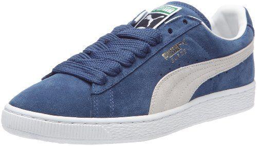 Puma Suede Classic+, Unisex-Erwachsene Sneaker, Blau (Ensign Blue/Weiß), 38 EU - http://uhr.haus/puma-6/38-eu-puma-suede-classic-unisex-erwachsene-blau-44