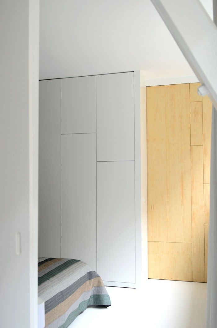 Bloesem Irene Hoofs apartment in Amsterdam via Remodelista.  I love the seamless storage