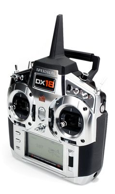 Spektrum DX18 w/ AR9020 Tx/Rx Mode 2 http://germanrc.pl/pl/p/Spektrum-DX18-w-AR9020-TxRx-Mode-2/3196