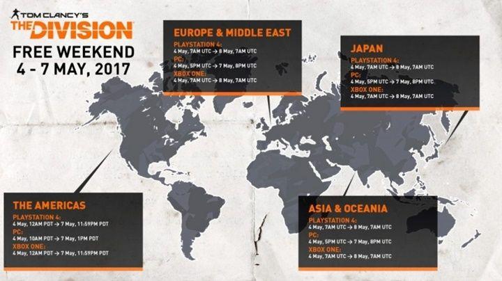 Ubisoft tarafından piyasaya sürülen açık dünya savaş oyunu The Division, bu haftasonu ücretsiz!    Tanıtılmasının ardından büyük yankı uyandıran The Division'ı, Massive Entertainment tarafından yapılan açıklamaya göre bu hafta sonu içinPC,PS4veXbox One'daücretsiz olarak...   http://havari.co/the-division-bu-haftasonu-ucretsiz/