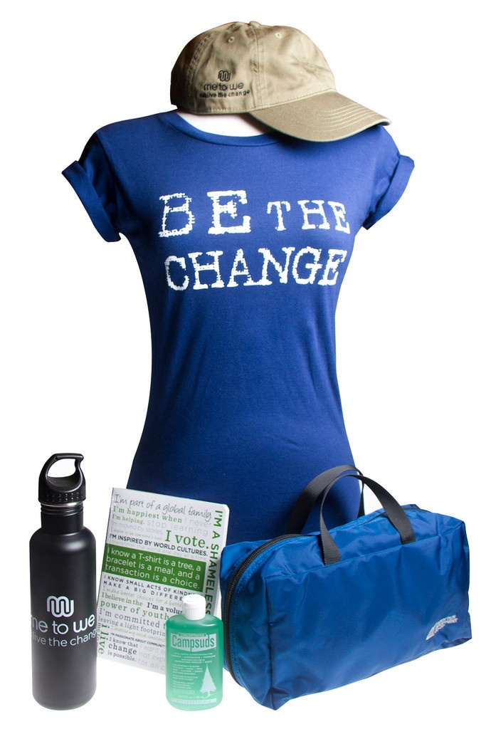 Me to We Travel Package - Mens  $99.99