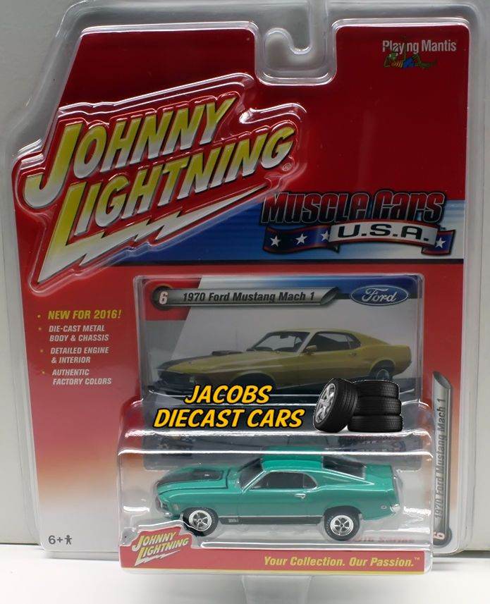 164 JOHNNY LIGHTNING MUSCLE CAR U.S.A. RELEASE 1A - 1970 FORD MUSTANG MACH 1 & 85 best Collectibles Johnny Lightning Cars images on Pinterest ... markmcfarlin.com