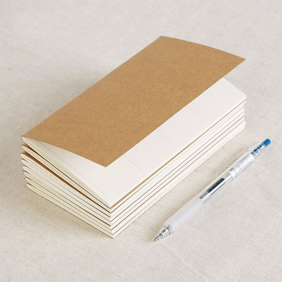 A5 Notebook Refill for Midori Traveler's Notebook by Callicrafty