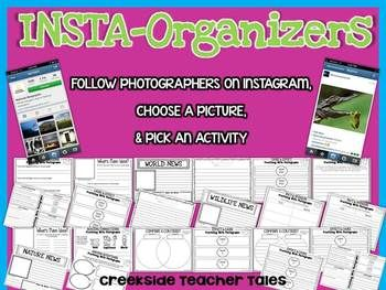 Insta-Organizers (Use Instagram Photographs to Practice Reading Strategies)