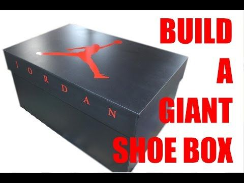 Build a Giant Nike Shoe Box for Storage | Workshop Addict - Wood & Metal Forum