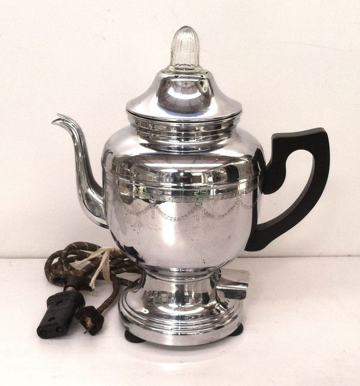 Farberware Coffee Pot Electric Cord : 1000+ images about Coffee pot and tea pots on Pinterest Coffee maker, Sugar bowls and Best coffee