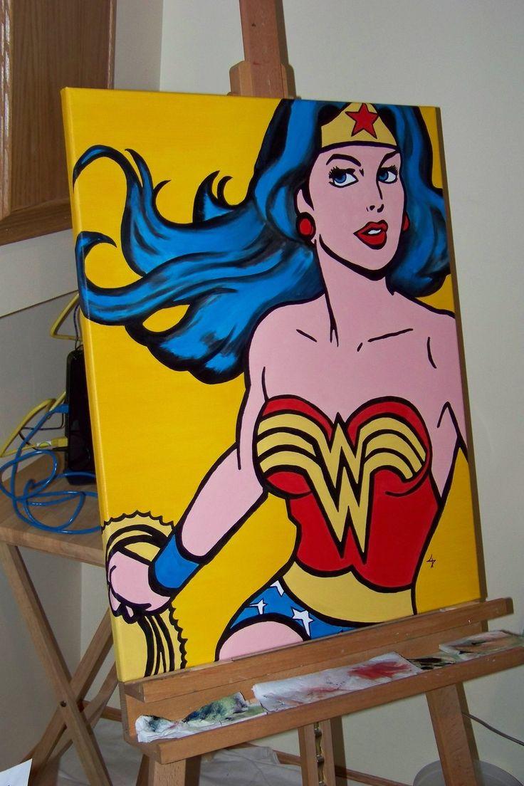 Vintage Wonder Woman by TheLostDroid.deviantart.com on @deviantART