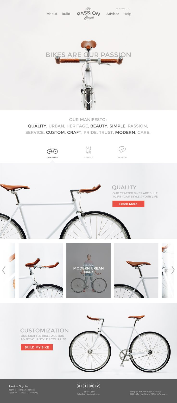 Passion Bicycle by JJ Lee.
