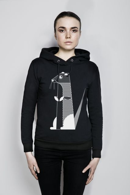 WISŁAKI_ organic cotton unisex sweatshirt
