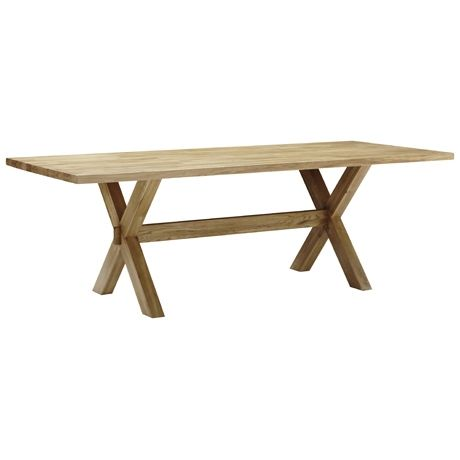 Constable Dining Table 224x95cm Natural