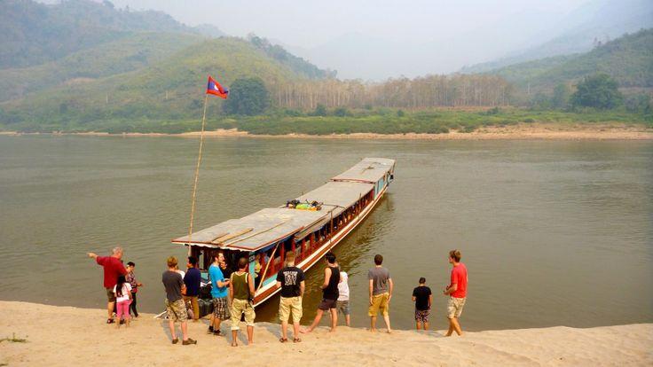 Pakbeng mekong trip