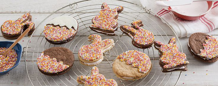 Celebrate Easter with the delicious gluten free bunny-shaped biscuits