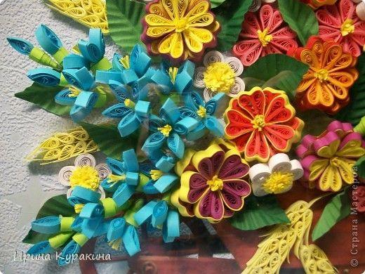тележка с цветами фото 2