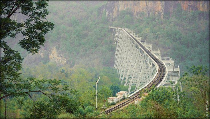 Gote Hteik Bridge Shan State Sight Seeing In Myanmar