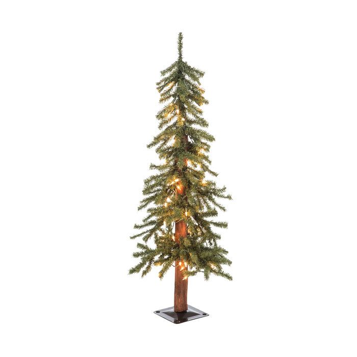 Green Alpine Pre-Lit Christmas Tree - 3' | Hobby lobby ...