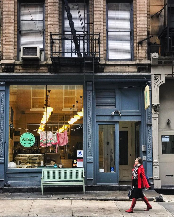 "NYC: ""Neighborhood Coffee ☕️ and : Billy's Bakery in Tribeca"""