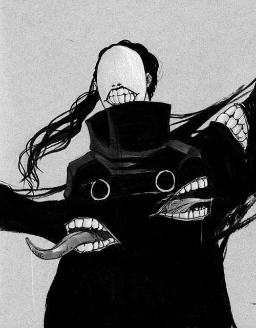 """(Open Rp, be her?) I widen my eyes at the demon as it backed me into a corner. It had just slaughtered my entire village... And had chased me down. I cowered in fear as i press against the wall, it's many mouths all chomping in hopes of taking a bite out of me. """"P-please!"""" I beg. """"I'll d-do anything! Anything! Just leave me alone!"""" I beg it. All of a sudden, it stops. I looks down at me, and it's mouths begin to disappear one by one. Soon all that's left is the original... Which slowly…"""