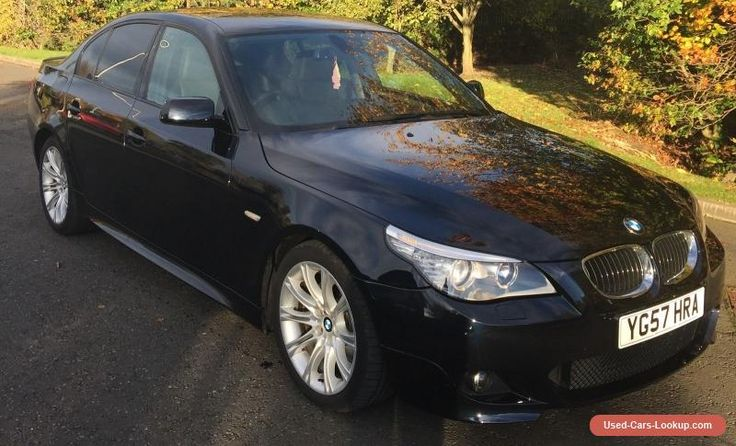 2007 BMW 525D M SPORT AUTO BLACK 59000 MILES GREAT CONDITION  #bmw #525dmsporta #forsale #unitedkingdom