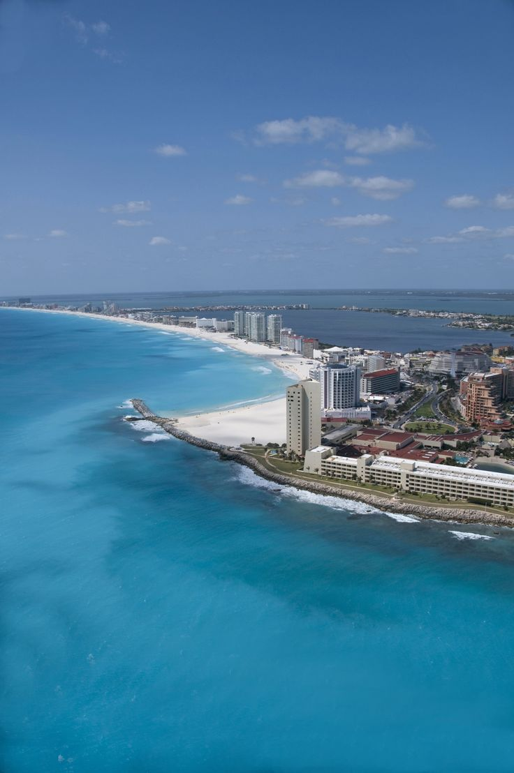 Sus Vacaciones en Cancun en un Hotel todo incluido frente al mar caribe.