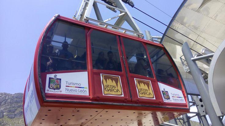 Photo - Google+ Cable car to Grutas de García, Nuevo León, México.